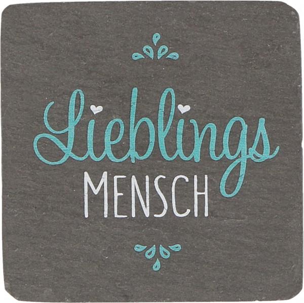 """Schiefermagnet """"Lieblingsmensch"""""""