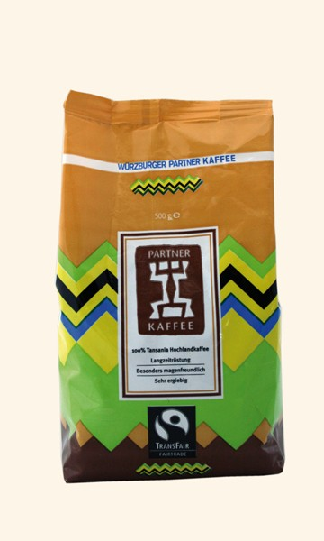 Kaffee Arabica Tansania, 500g -ganze Bohne
