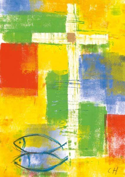 """Kommunionkarte """"Licht und Hoffnung"""""""