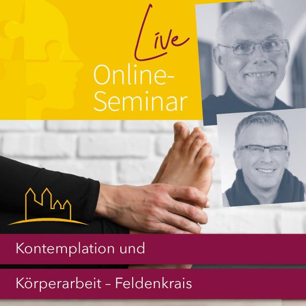 """Live-Online-Seminar """"Kontemplation und Körperarbeit (Feldenkrais)"""" 30.04.2022"""