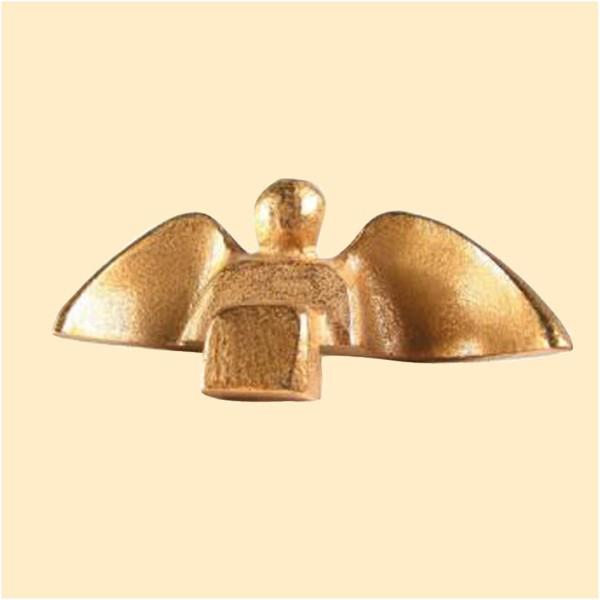 Sitzender Engel (Bronze)