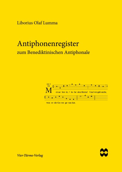 Antiphonenregister zum Benediktinischen Antiphonale