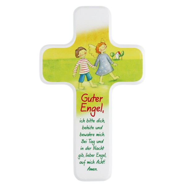 Kinderholzkreuz Guter Engel