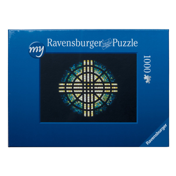 "Ravensburger Puzzle ""Abteirosette"" - 1000 Teile"