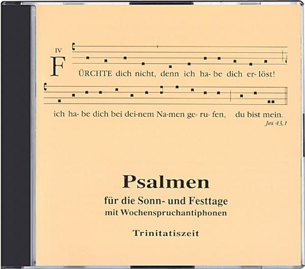 Psalmen für die Sonn- und Festtage: Trinitatiszeit