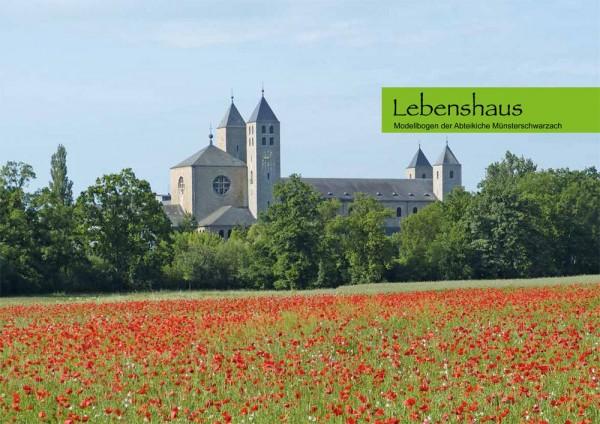 Lebenshaus - Modellbogen der Abteikirche Münsterschwarzach