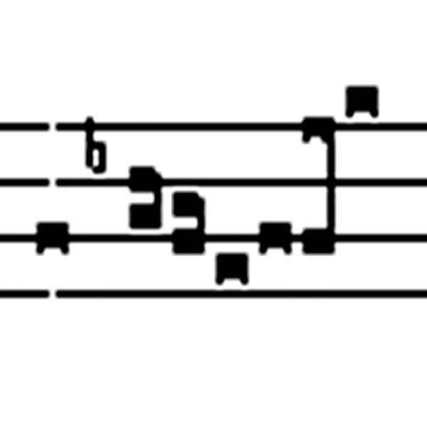 Schriftarten Choralnoten und Choralfiguren