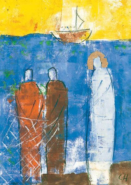 """Glückwunschkarte zur Priesterweihe """"Für die Menschen berufen"""""""