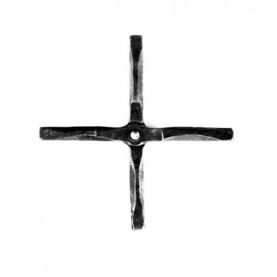 Eisenkreuz vierkant genietet groß