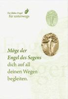 """Engelplakette """"Segen"""" Silber-Bronze"""