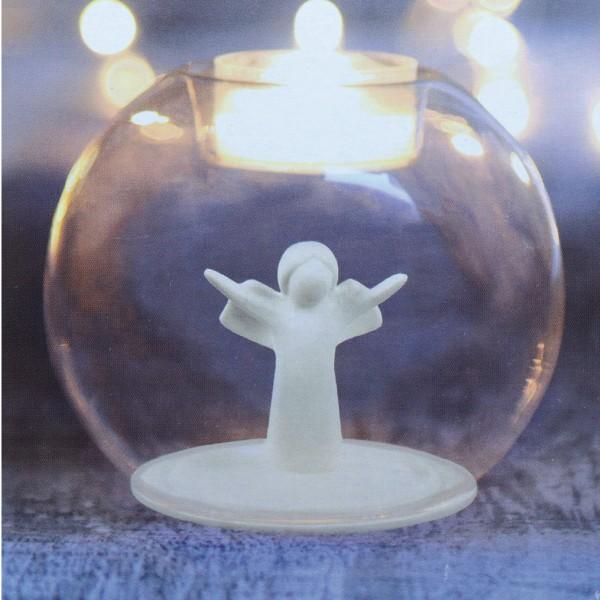 Windlicht_Von einem Engel begleitet