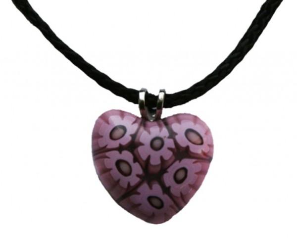 Murano-Glas-Anhänger Herz