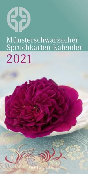 Münsterschwarzacher Spruchkarten-Kalender 2021