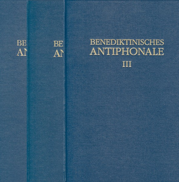 Benediktinisches Antiphonale (Komplettpaket mit Bänden I bis III)