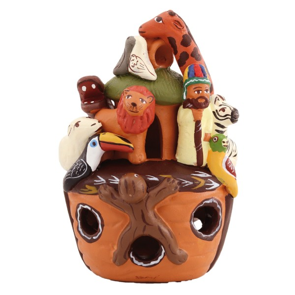 """Keramik-Figur """"Arche Noah"""""""