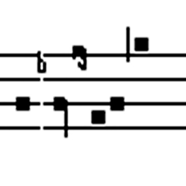 Schriftart Choral P. Michael