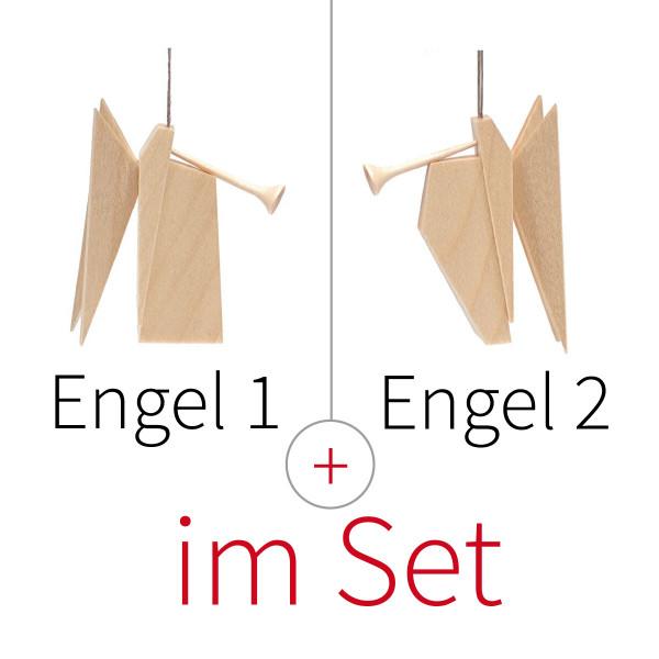 Baumschmuck Engel 2er-Set