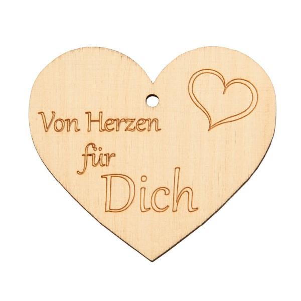 """Holzherz """"Von Herzen"""""""