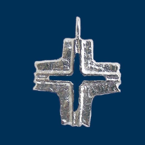 Schmuckanhänger Abteikreuz klassisch
